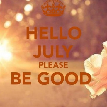 En juillet, fais ce qu'il te plaît ! July is yours, enjoy it !